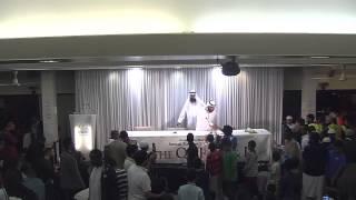 Sheikh Mishari Rashid Al-Afasy Greeting the Children