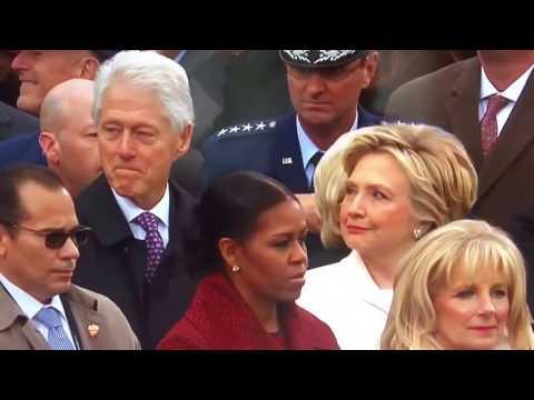 Bill Clinton Checking Out Ivanka Trump at 2016 Inauguration