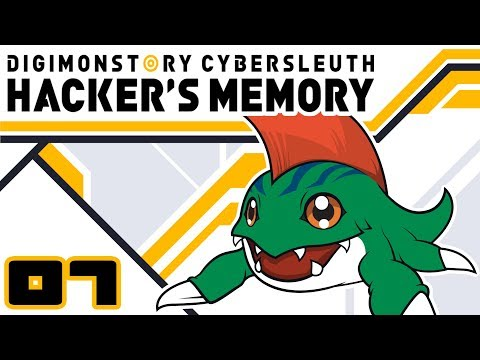 Let's Play Digimon Story: Cyber Sleuth Hacker's Memory - Part 7 - UNCLEAN