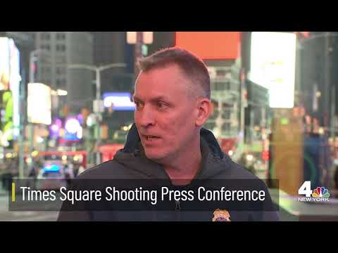 LIVE: NYPD Officials Deliver Update on Times Square Shooting