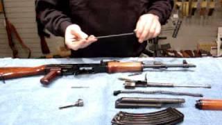 AK47 cleaning kit