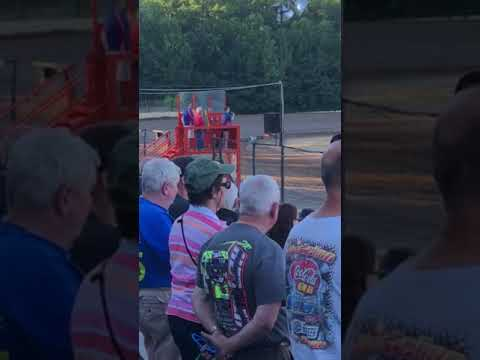 Skylar National Anthem Albany-Saratoga Speedway