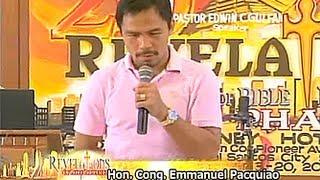 Download lagu Manny Pacquiao - Revelation Seminar [English Caption - CC]