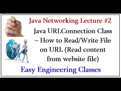 Java URLConnection Class – How to Read/Write File on URL (Read content from website file)