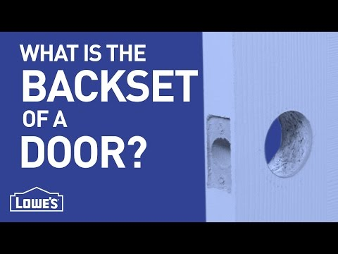 What is the Backset of a Door? | DIY Basics