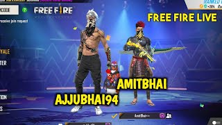Free Fire Live New Event with Ajjubhai94 (Total Gaming) - Garena Free Fire