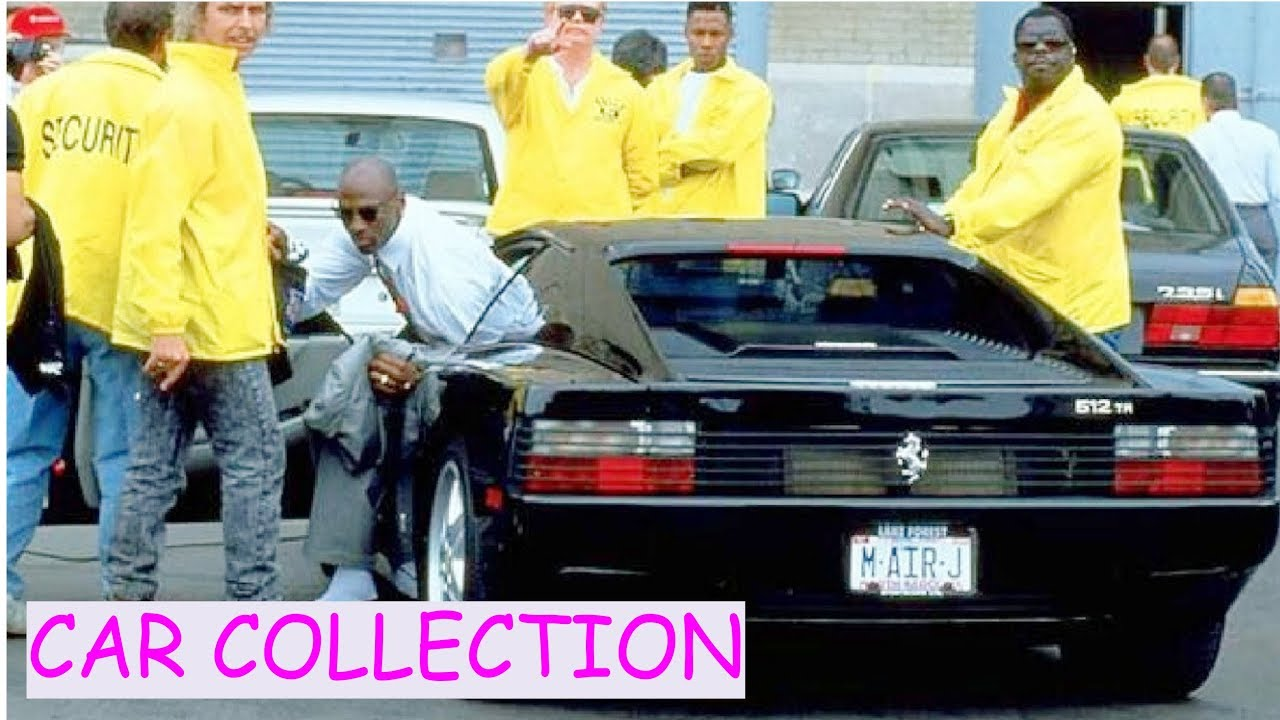 Michael jordan car collection 2018 youtube for Garage mj auto