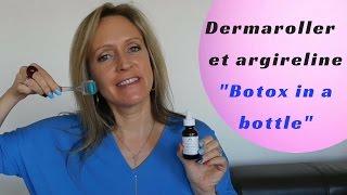 """Le dermaroller et l'argireline """"botox in a bottle"""" (beauté 40 ans +)"""