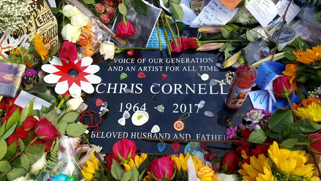 295 5 28 2017 Chris Cornell S Grave And Funeral After