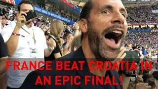 France beat Croatia in an epic final! | Rio's WC18 Vlogs