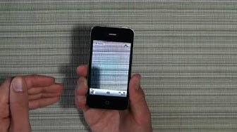 iPhone 4 - Test HD - Deutsch/German