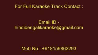 O Chokhe Amar - Karaoke - Kumar Sanu