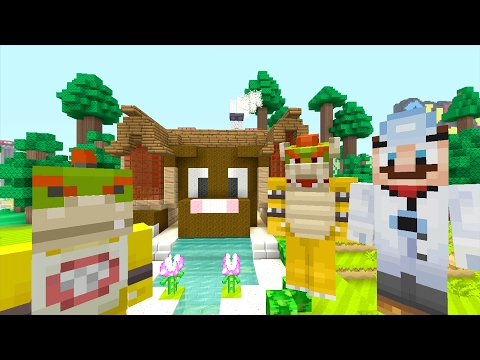 Minecraft Wii U - Nintendo Fun House - Bowser Jr Gets A Pet! [36]