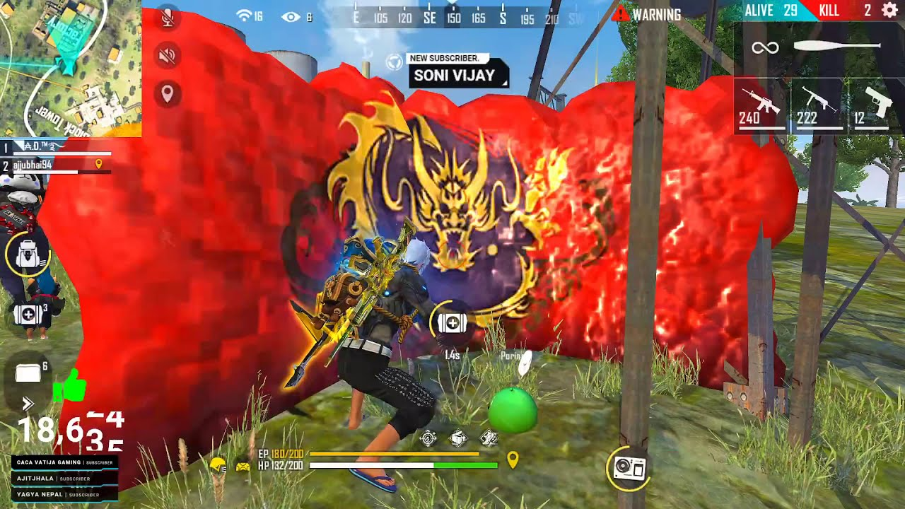 Best Duo Game With AWM and Mp40 – Garena Free Fire