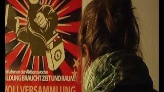 Räumung Casino Goethe Universität Frankfurt am Main 03.Dezember 2009
