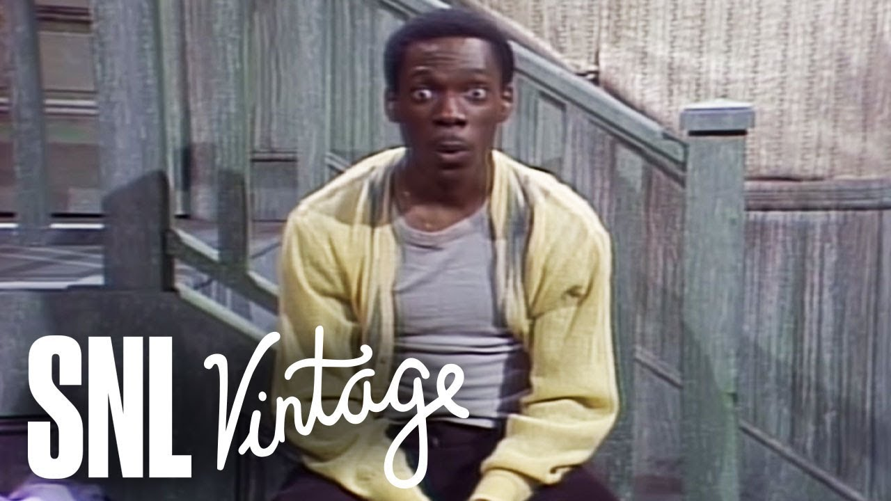 Eddie Murphy returned to SNL with Gumby, Buckwheat and Mister ...