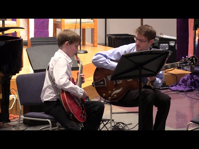 Blues Jamming with Charlie