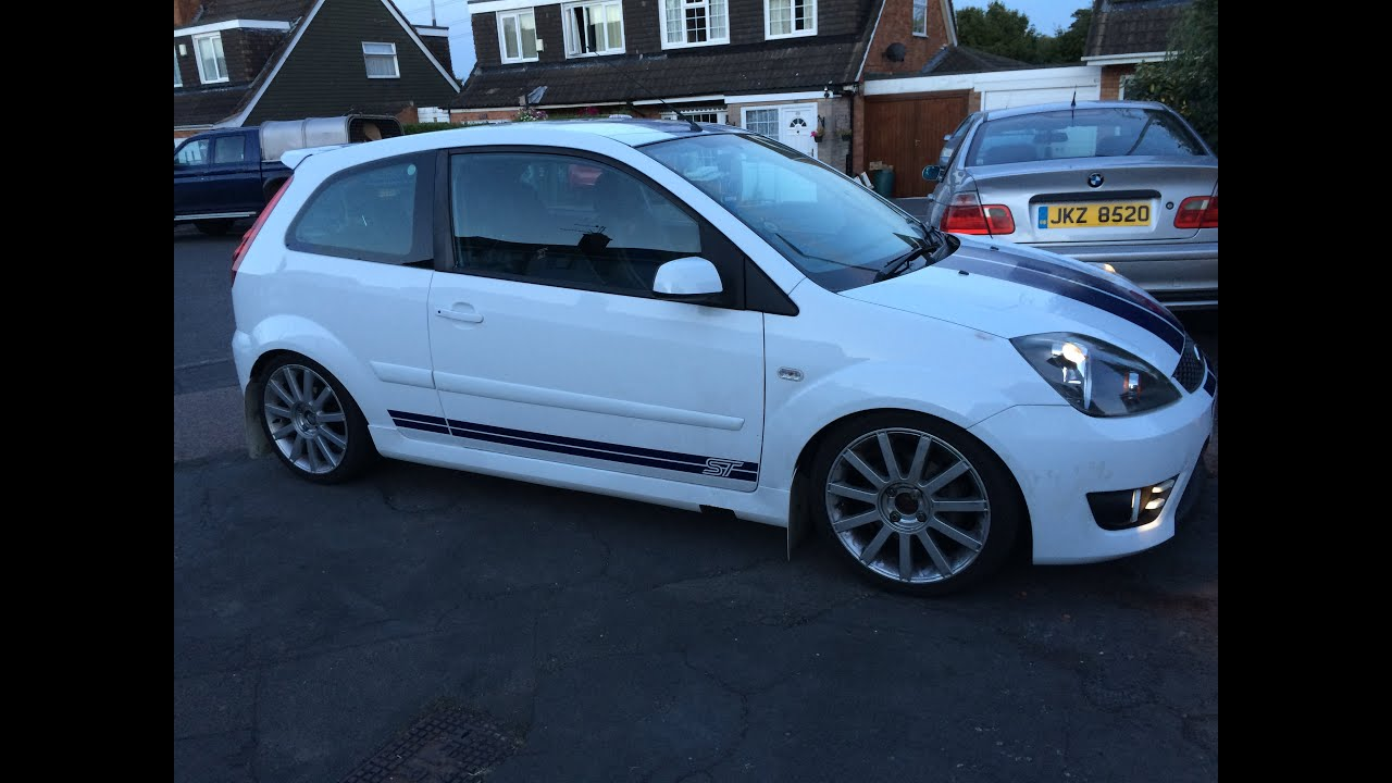 2007 MK6 Ford Fiesta ST150 custom exhaust revving and ...
