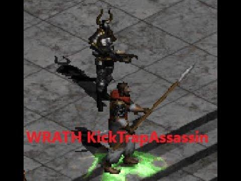 Wrath Kick-Trap-Assassin - Diablo 2 LoD Uncommon Builds