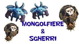 Clash of Clans: Tattica con Mongolfiere e Sgherri