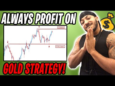 HOW TO MASTER TRADING GOLD FOR BEGINNERS // Secret Sauce To Be Profitable & Avoid Fake-outs For Wins