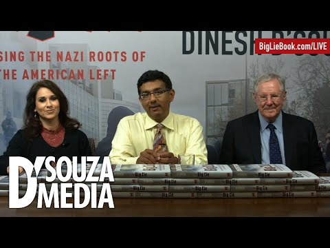 Steve Forbes, James O'Keefe, & Stephen Moore discuss fascism in America with Dinesh D'Souza