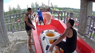 Volcano Coaster Water Slide at Jogja Bay Waterpark