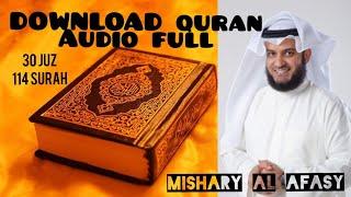Gambar cover DOWNLOAD MP3 FULL QURAN - 30 JUZ (114 SURAH) BY Mishary Al Afasy