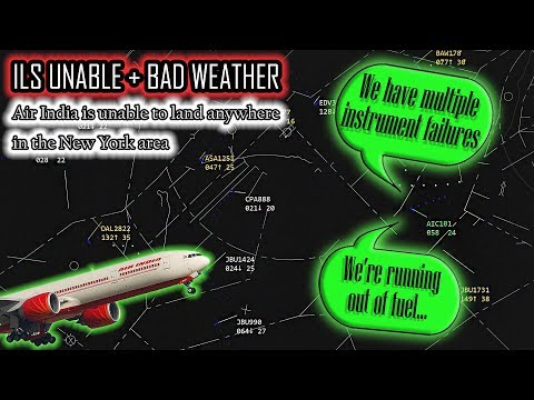 Air India LOSES MULTIPLE INSTRUMENTS AND CANT LAND ANYWHERE!