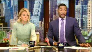 On Live With Kelly and Michael April 18, 2016 : Katharine McPhee, Terry Crews