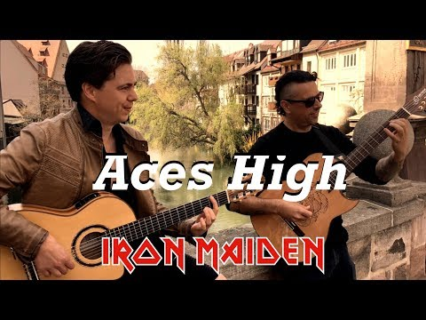 Watch Iron Maiden's Aces High performed in dazzling flamenco/classical guitar style | Louder