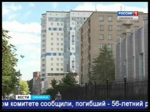 В Смоленске из окна гостиницы выпал мужчина