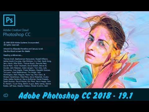 Hướng Dẫn Cài Photoshop CC 2018 – Update 19.1 | CaoNguyenIT Channel