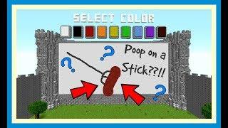 Minecraft - Draw my Poop!
