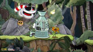 Cuphead pacifist: No damage No smoke bomb - Forest Follies