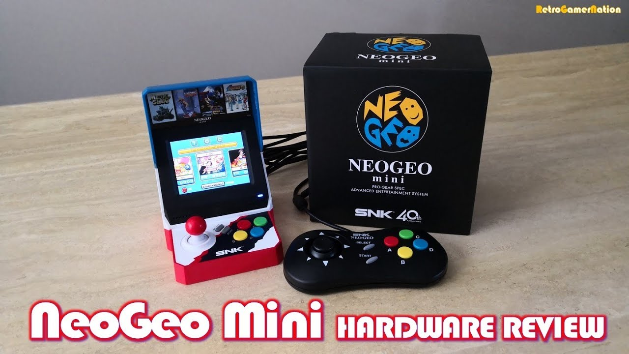 NeoGeo Mini, Console Review – Vintage is the New Old, Retro