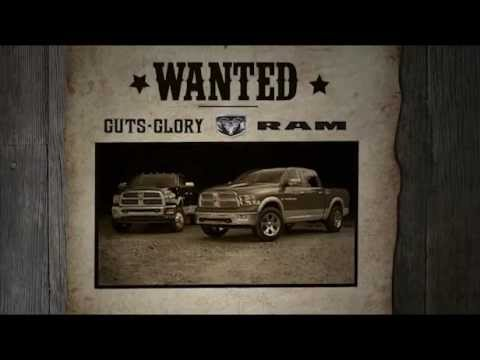 Dodge Ram Trucks >> Guts Glory Ram Courtesy Chrysler Dodge Jeep Ram Calgary Alberta - YouTube
