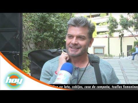Sergio Basáñez, de visita en Televisa | Rápidas y Curiosas | Hoy