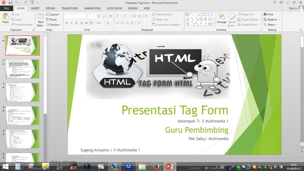Cara Membuat Presentasi Powerpoint sangat Mudah dan Keren POWER POINT INDONESIA