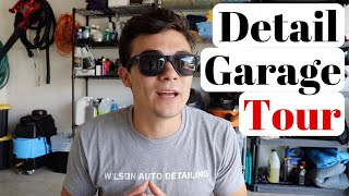 Tour My New $1,000,000 Detailing Garage! This is the REAL world...