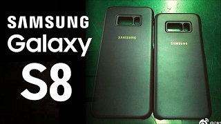 Galaxy S8 and S8 Plus Official Cases Leaked!!!