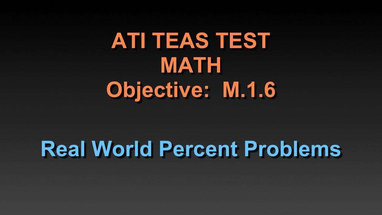 Worksheet Percentage Tutorial Math teas math tutorial real world percent problems youtube problems
