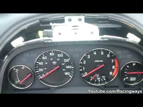 How To Remove Instrument Gauge Cluster - 300ZX
