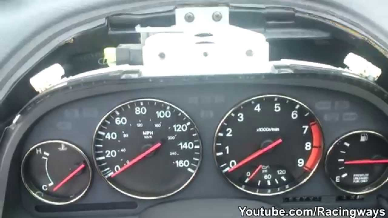 how to remove instrument gauge cluster 300zx youtube1988 300zx tachometer wiring diagram 19 [ 1280 x 720 Pixel ]