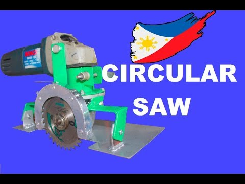 Circular Saw from Angle Grinder