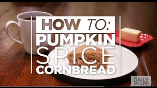 How To Make Pumpkin Spice Cornbread