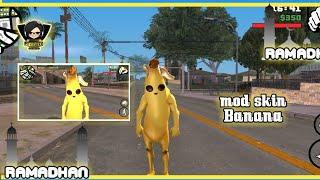 cara instal mod peau banane [fortnite] - gta sa androïde