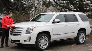 2019 Cadillac Escalade Platinum   Tour Of Escalade Platinum   All You Need To Know About