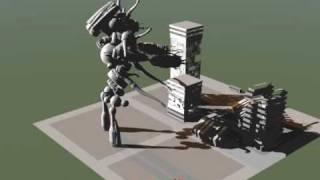 GIANT ROBOT ATTACK