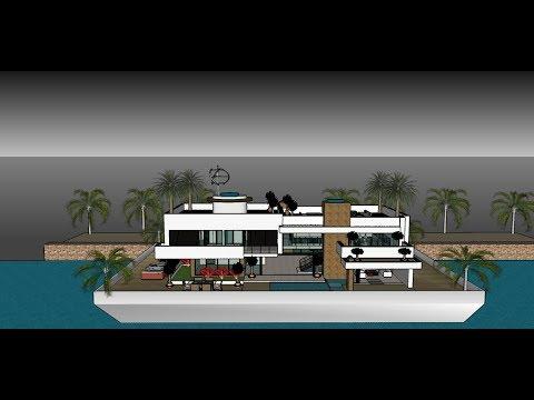Hausboot in Deutschland   Luxus Hausboote in Hamburg   Design und Bau
